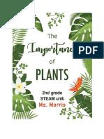 plants  carlys 2nd grade unit-3