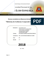 Regimen de Gestion de Gobierno Corporativo de China