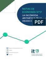 NdE 17 La Incómoda Aritmética de La Deuda II