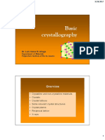 Chapter 3_Introduction to Crystallography