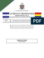 Estatutos UNAN-León