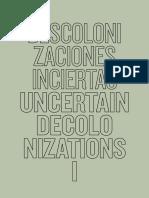 Mignolo_Descolonizaciones Dossier.pdf
