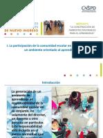 2. La Generación de Ambientes de Aprendizaje, Una Responsabilidad Colectiva