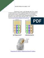 Cara Menghubungkan Kabel Utp