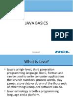 1.Java Basics