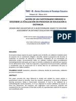 Diseño y validación de un cuestionario dirigido a describir la evaluación en procesos de educación a distancia.pdf