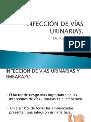 Infeccion urinaria en el embarazo pdf