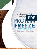 Protein Freeze Recipes