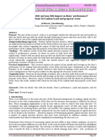 Do tax shields of debt and non debt impact on firms' performanceEvidence from Sri Lankan Land and property sector.pdf