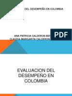 Diapositivas Evaluacion Del Desempeño en Colombia
