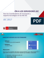 Introducción a Los Servidores JEC