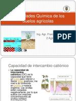 propiedades quimicas  de suelos agricolas