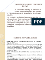 Fases Del Conflicto Armado y Procesos de Paz Pd
