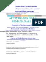 Wiki Con El Glosario Técnico en Inglés y Español