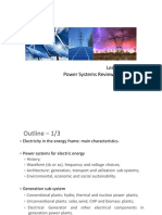 Introducción a los sistemas de potencia