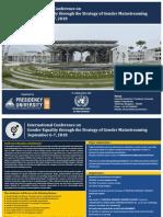 Brochure International Conference