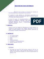 Informe 9- Det. Ac. Ascórbico1