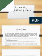 Atracción, Intimidad y Amor