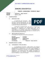 03 - Memoria descriptiva puente carrozable Bajo Uruya.doc