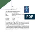 Environmental Toxicology and Pharmacology Volume 39 Issue 2 2015 [Doi 10.1016_j.etap.2015.02.020] Pamanji, Rajesh; Yashwanth, B.; Bethu, M.S.; Leelavathi, S.; Rav -- Toxicity Effects of Profenofos o