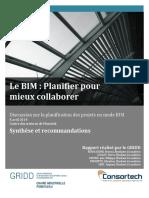 2014 Rapport de Rencontre BIM Consortech