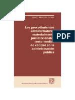 Los procedimientos administrativos materialmente jurisdiccionales .pdf