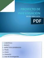 Proyecto de Investigaciòn