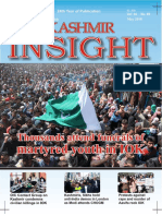Monthly Kashmir Insight May 2108