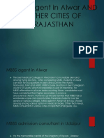 Mbbs Agent in Alwar and Other Cities Of