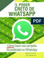El Poder Secreto de WhatsApp  Como hacer una campaña de publicidad en WhatsApp.pdf