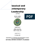 Article Abstract Leadership