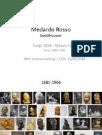 Medardo Rosso - Chronologisch