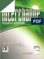 Interchange Level 3 Fourth Edition Workbook