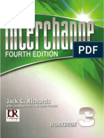 Interchange Level 3 Fourth Edition Workbook
