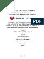 Endomarketing en La Empresa Bohler