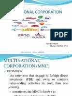 Multinational Corporation