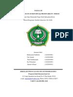 Makalah Internal Rate of Return Dan Prof