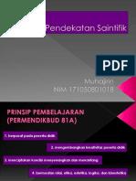 Pendekatan Saintifik_MUHAJIRIN