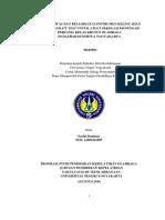 Skripsi Uji Validitas Dan Reliabilitas Saeful Rahman