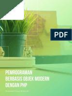 Pemrograman Berbasis Objek Modern Dengan Php Sample