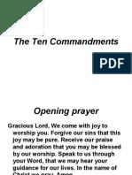 10 Commandments Ppt