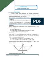 Geometri Transformasi Isometri Dan Isome