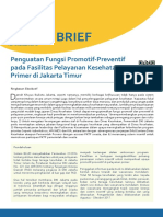 Policy Brief No.6 Januari 2018 - Penguatan Fungsi Promotif-Preventif