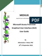 Medilig Fe Msaccess - User Guide
