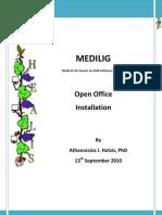 Medilig Fe Open Office - Installation