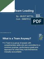 Team Leading