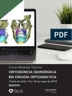 Ortodoncia Quirurgica 2018 Nuevo