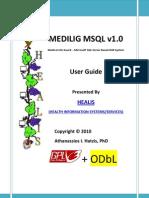 Medilig Msql - User Guide