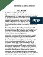 Complete Fifteen Prayers of Saint Bridget Ogaiykem. 20.09.2010 2