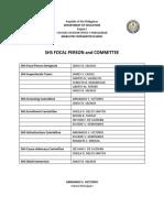 SHS Committee